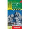 Tennengebirge-Lammertal-Osterhorngruppe turistatérkép - f&b WK 392