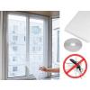 Tépőzáras szúnyogháló ablakra / 130x150 cm