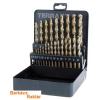 Terrax A215215 Fémcsigafúró készlet HSSE-Co 5% 1-13 mm 25 részes