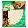 Tesco búzalisztből készült tortilla lapok búzakorpával és lenmaggal 4 db 250 g