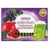 Tesco Super Fruits feketeribizli és gránátalmaízű gyümölcstea 15 filter 30 g