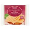 Tesco szeletelt, zsíros, ömlesztett sajtkészítmény cheddar sajttal 8 db 150 g