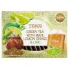 Tesco zöld és mate tea keveréke citromfű és lime ízesítéssel 15 filter 22,5 g