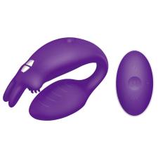 The Couples Rabbit - kétmotoros, akkus párvibrátor (lila) vibrátorok