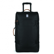 The Pack Society solid black utazóbőrönd 100l
