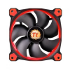 Thermaltake Ring 12 Ventilátor, Piros LED, 120mm (CL-F038-PL12RE-A)