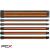 Thermaltake ttmod sleeve ac-036-cn1nan-a1 fekete-narancssárga moduláris tápkábel kit