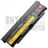 ThinkPadT540p Series 6600 mAh 9 cella fekete notebook/laptop akku/akkumulátor utángyártott