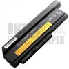 ThinkPad X220 Series 6600 mAh 9 cella fekete notebook/laptop akku/akkumulátor utángyártott