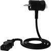 Tinen 230 C13 az innovatív dugó 3 m fekete