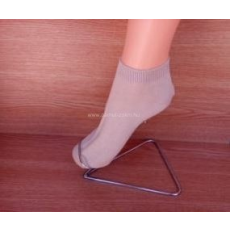 Titok pamut zokni - drapp 45-46