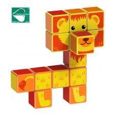 TM Toys Magicube - szafari állatok barkácsolás, építés