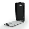 Tok, flip tok, Samsung Galaxy Core I8260, fekete, flexi, csomagolás nélküli