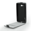 Tok, flip tok, Samsung Galaxy J3 (2017) J330, fekete, flexi, csomagolás nélküli