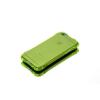 Tok, Ginger, ütésálló szilikon tok, Apple iPhone 6 / 6S, áttetsző uv zöld