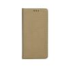 Tok, mágneses oldalra nyíló Smart flip tok, LG G7, arany, (szilikon belsővel), csomagolás nélküli