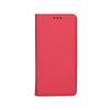 Tok, mágneses oldalra nyíló Smart flip tok, LG K3, piros, (szilikon belsővel), csomagolás nélküli