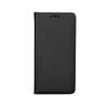 Tok, mágneses oldalra nyíló Smart flip tok, Nokia 3, fekete, (szilikon belsővel), csomagolás nélküli