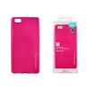 Tok, Mercury i-Jelly, fémhatású matt szilikon, Huawei P20 Pro, rózsaszín