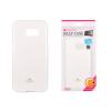 Tok, Mercury Jelly, szilikon, (csillámporos), Samsung Galaxy A5, fehér