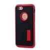 Tok, Motomo, carbon hátlap színes kerettel, Apple iPhone 7 / 8, fekete-piros