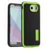 Tok, Motomo, carbon hátlap színes kerettel, Samsung Galaxy S7 Edge G935, fekete-zöld