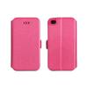 Tok, oldalra nyíló flip tok, Apple iPhone 7 Plus, 8 Plus, rózsaszín, flexi, csomagolás nélküli