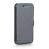 Tok, oldalra nyíló flip tok, Samsung Galaxy J5 (2017) J530, szürke, flexi, csomagolás nélküli