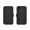 Tok, oldalra nyíló flip tok, Sony Xperia Z3 Mini fekete, flexi, csomagolás nélküli