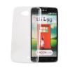 Tok, Ultra Slim-szilikon tok, LG X-Power 2, átlátszó, csomagolás nélkül