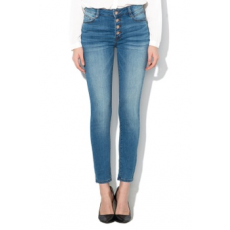 Tom Tailor , Kate skinny fit farmernadrág, Mosott kék, W29-L32 (TT0AP100530100000000-10127-W29-L32)