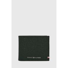 Tommy Hilfiger - Bőr pénztárca + bross - fekete - 1570708-fekete