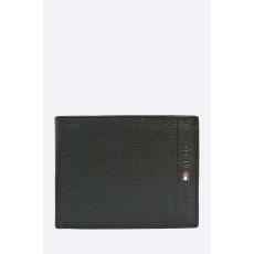 Tommy Hilfiger - Bőr pénztárca - fekete - 1000112-fekete