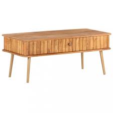 Tömör akácfa dohányzóasztal 100 x 50 x 40 cm bútor