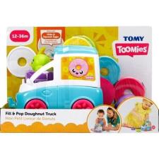 Tomy Toomies: Vidám fánkoskocsi foglalkoztató - kék egyéb bébijáték