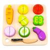 Tooky Toy Szeletelhető fa zöldségek 8 darabos