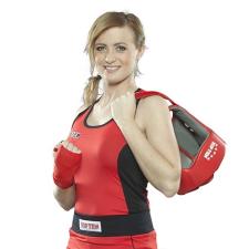 Top Ten Box felső, női, TOP TEN, piros, XS méret női edző felszerelés