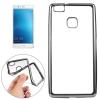 TOPTEL Clear Case Huawei P9 Lite hátlap, tok, átlátszó-acél ezüst