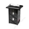 Tork Szalvéta adagoló, N4 rendszer, 343x251x178 mm, TORK Xpressnap, fekete (KHH466)