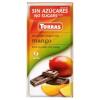 Torras Torras mangós étcsokoládé édesítőszerrel 75 g