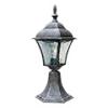Toscana kültéri álló lámpa (E27) antik ezüst, 415 mm