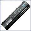 Toshiba PABAS261 6600 mAh 9 cella fekete notebook/laptop akku/akkumulátor utángyártott
