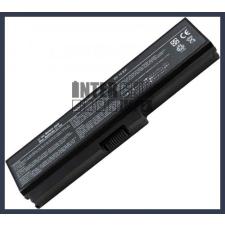 Toshiba Satellite L650-18M 4400 mAh 6 cella fekete notebook/laptop akku/akkumulátor utángyártott toshiba notebook akkumulátor