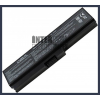 Toshiba Satellite L650-19P 4400 mAh 6 cella fekete notebook/laptop akku/akkumulátor utángyártott