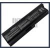 Toshiba Satellite L655-158 6600 mAh 9 cella fekete notebook/laptop akku/akkumulátor utángyártott