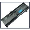 Toshiba Satellite M115 series 6600 mAh 9 cella fekete notebook/laptop akku/akkumulátor utángyártott
