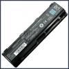 Toshiba Satellite M800D 6600 mAh 9 cella fekete notebook/laptop akku/akkumulátor utángyártott