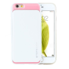 TOTU SPLENDOR SERIES case for iPhone 6 tok, fehér/rózsaszín