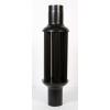 TOTYA Vegyestüzelésű kazánokhoz fekete hődob 130/1000 mm