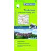 Toulouse és környéke térkép - Michelin 129*
